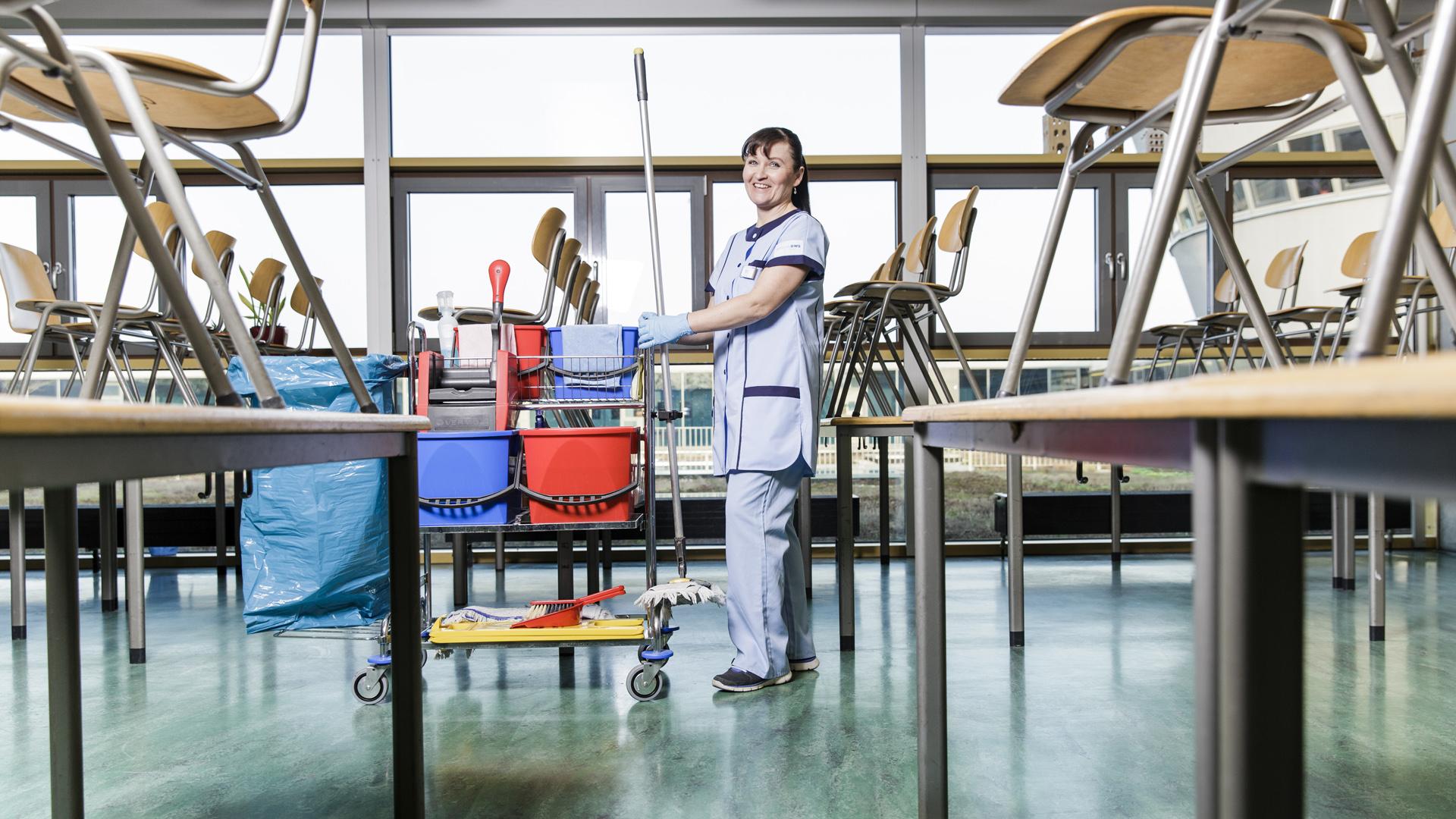RWS Gruppe: Ihr Reinigungs- & Cateringspezialist in Kitas & Schulen