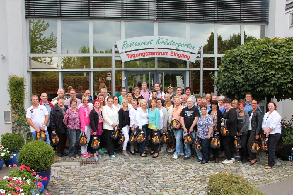 Alle auf einem Streich: Die Küchenleiter der RWS Cateringservice GmbH.