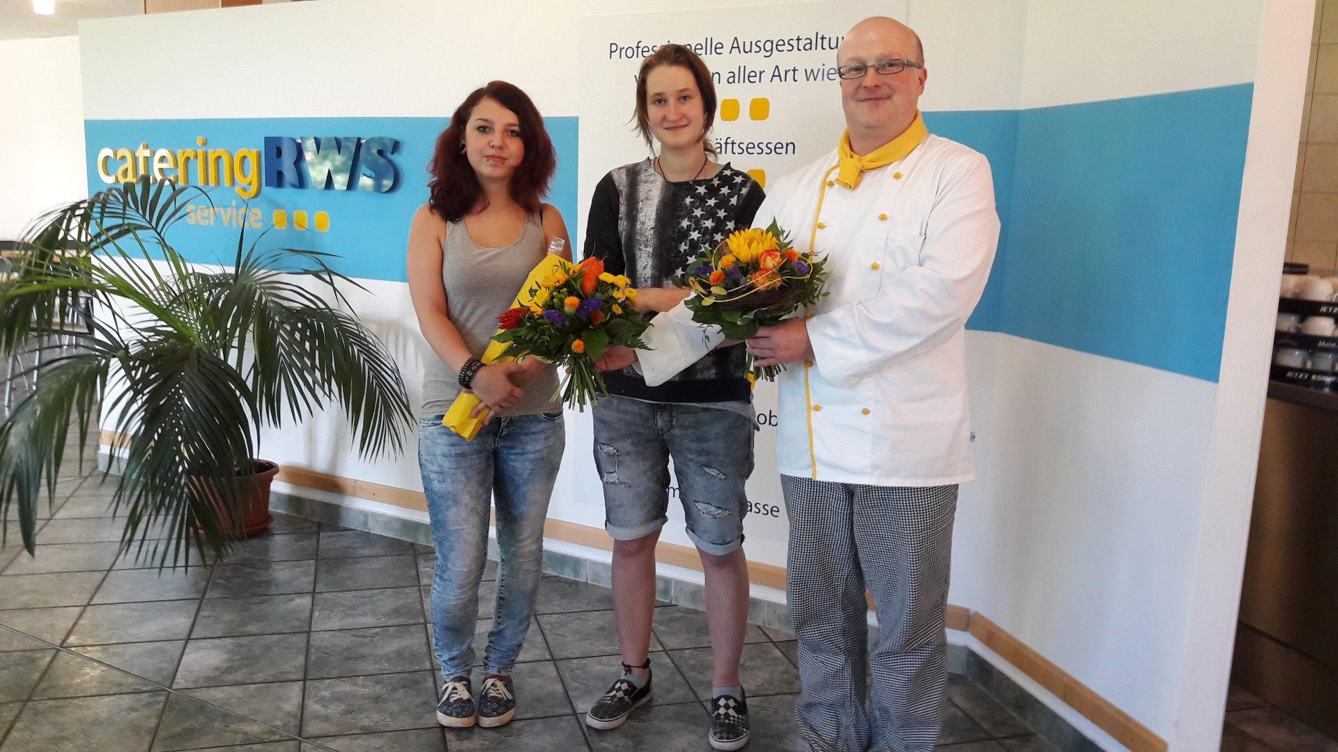 An die Töpfe Start der Ausbildung Koch in Chemnitz