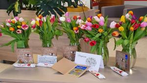 Blumen, die Freude bereiten